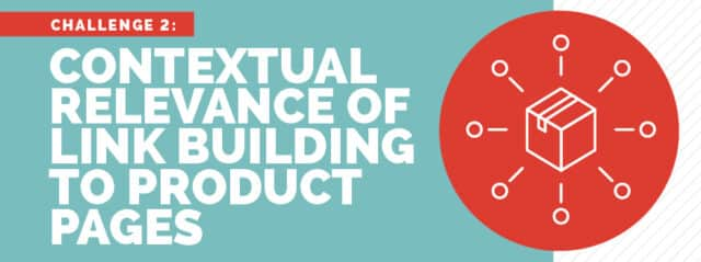 contextual relevance of link building to product pages